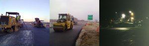 pavimentazione dell'autostrada A14 tratto Fano Senigallia